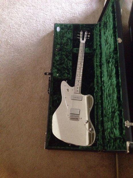 egc electrical guitar company jazzmaster 2010 chrome reverb. Black Bedroom Furniture Sets. Home Design Ideas