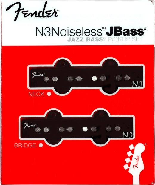 fender accessories n3 noiseless jbass noiseless jazz bass pickup 2 piece set reverb. Black Bedroom Furniture Sets. Home Design Ideas