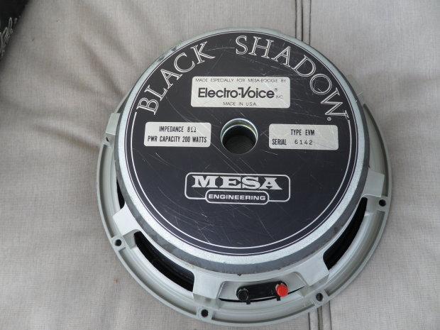 Electro Voice Evm12l Speaker Ev 8 Ohm 12 Quot Black Shadow
