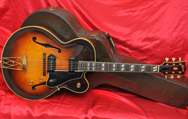 gibson vintage 1949 es 350 archtop w p 90 39 s amazing tone and condition 350t reverb. Black Bedroom Furniture Sets. Home Design Ideas