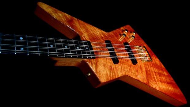 fano explorer viii 8 1989 koa first guitar built by dennis fano monster 8 string bass rare. Black Bedroom Furniture Sets. Home Design Ideas