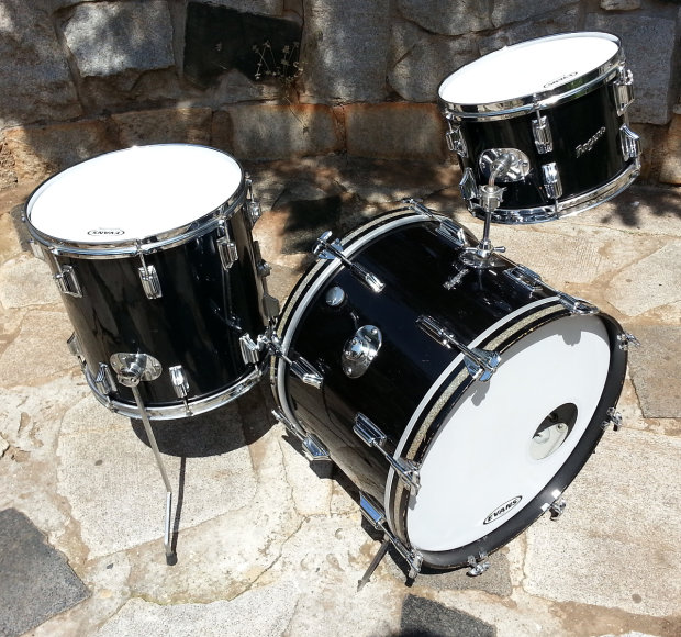 rogers holiday drum set 121420 reverb