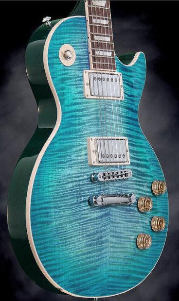 Gibson Les Paul Standard 2014 Ocean Water Blue