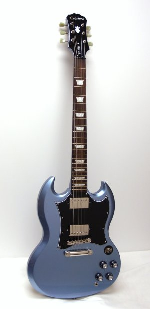 epiphone 1966 g 400 pro sg limited edition electric guitar pelham blue reverb. Black Bedroom Furniture Sets. Home Design Ideas
