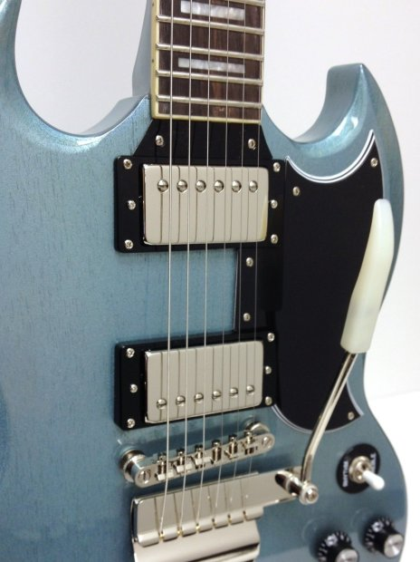 epiphone tv pelham blue sg custom maestro ltd ed electric guitar reverb. Black Bedroom Furniture Sets. Home Design Ideas