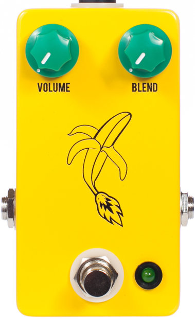 jhs banana boost guitar effects pedal reverb. Black Bedroom Furniture Sets. Home Design Ideas