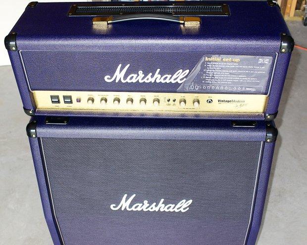 marshall vintage modern 2466 matching 425a cab dark purple reverb. Black Bedroom Furniture Sets. Home Design Ideas