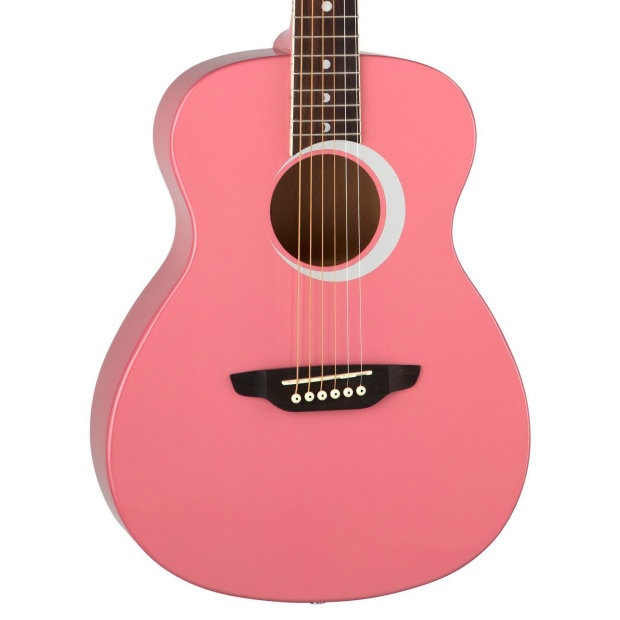 Child Size Guitar : luna guitars aurora student child sized pink acoustic guitar w lesson strap reverb ~ Hamham.info Haus und Dekorationen