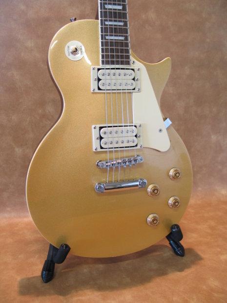 jay turser jt220 gt gold top 6 string les paul style guitar reverb. Black Bedroom Furniture Sets. Home Design Ideas