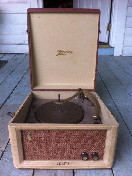 Vintage Zenith Record Player Flower Sex Toy