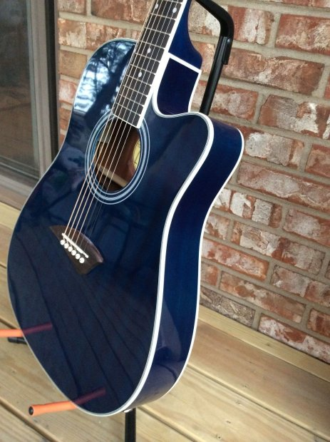 kona k2tbl acoustic electric thin body guitar 12 choice points see descrip reverb. Black Bedroom Furniture Sets. Home Design Ideas
