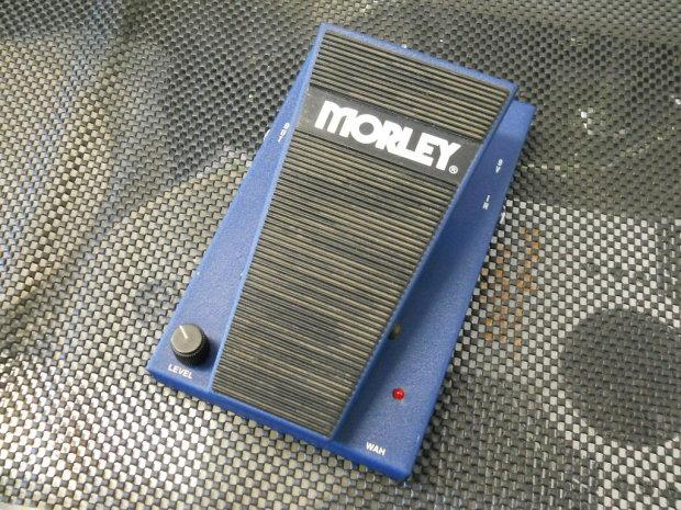 morley pro series ii pba bass guitar wah pedal blue finish reverb. Black Bedroom Furniture Sets. Home Design Ideas
