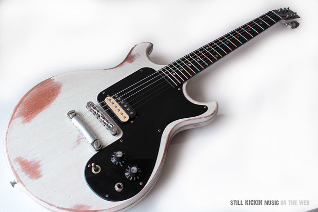 gibson joan jett relic melody maker signature electric guitar 2008 reverb. Black Bedroom Furniture Sets. Home Design Ideas