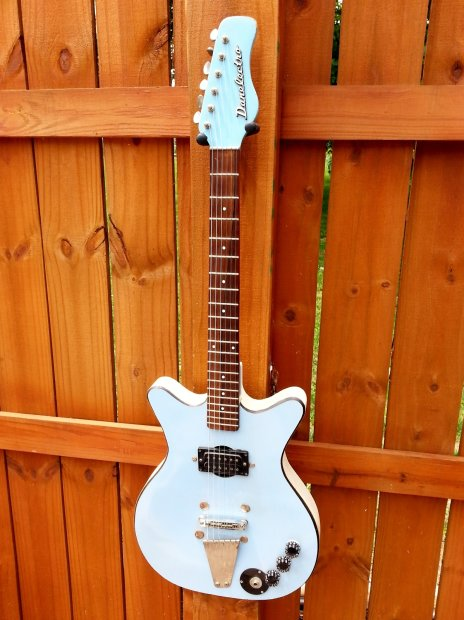 1967 danelectro convertable electric guitar original baby blue finish players condition reverb. Black Bedroom Furniture Sets. Home Design Ideas