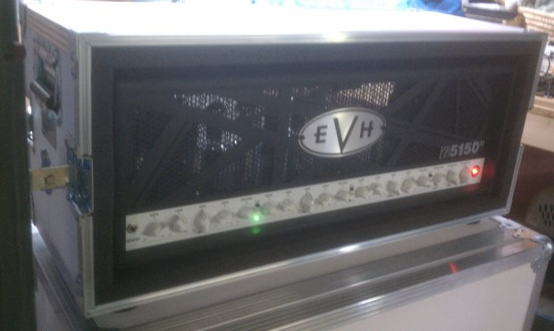 evh 5150 iii 100w guitar head with kent live in ata road case reverb. Black Bedroom Furniture Sets. Home Design Ideas