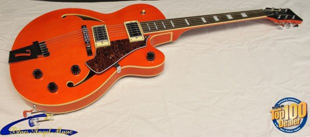 italia torino semi hollow electric guitar trans orange brand new reverb. Black Bedroom Furniture Sets. Home Design Ideas