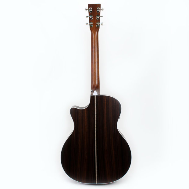 martin gpc aura gt grand performer acoustic electric guitar in natural gloss top reverb. Black Bedroom Furniture Sets. Home Design Ideas
