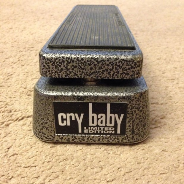 Dunlop Cry Baby Gcb 95 Limited Edition Hammertone Finish