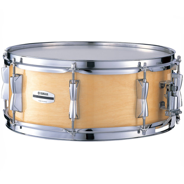 Yamaha stage custom birch snare drum natural finish reverb for Yamaha stage custom steel snare drum 14x6 5