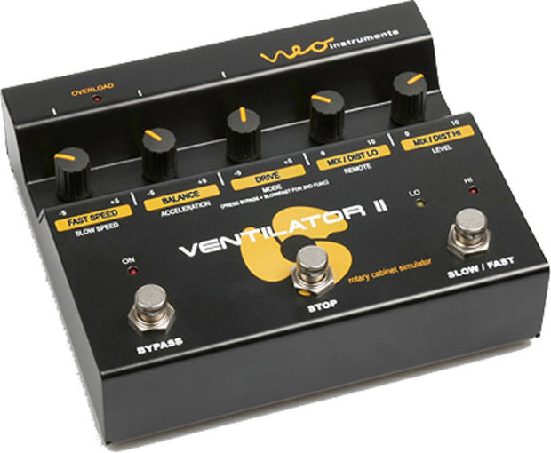 neo instruments ventilator ii rotary speaker simulator pedal for guitar keyboard 2014 reverb. Black Bedroom Furniture Sets. Home Design Ideas