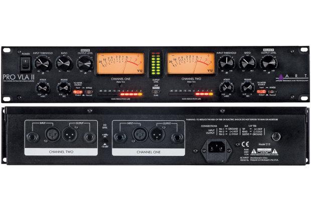 perfect pairing art pro mpa ii channel mic preamp vla ii channel tube compressor