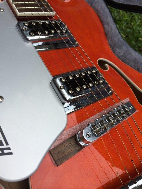 gretsch guitars g5420t lh electromatic hollowbody guitar case orange left hand reverb. Black Bedroom Furniture Sets. Home Design Ideas