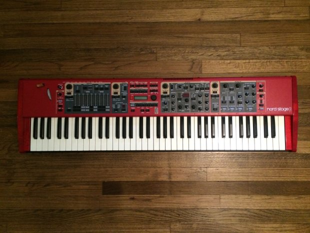 nord stage 2 sw73 compact stage piano organ synth reverb. Black Bedroom Furniture Sets. Home Design Ideas