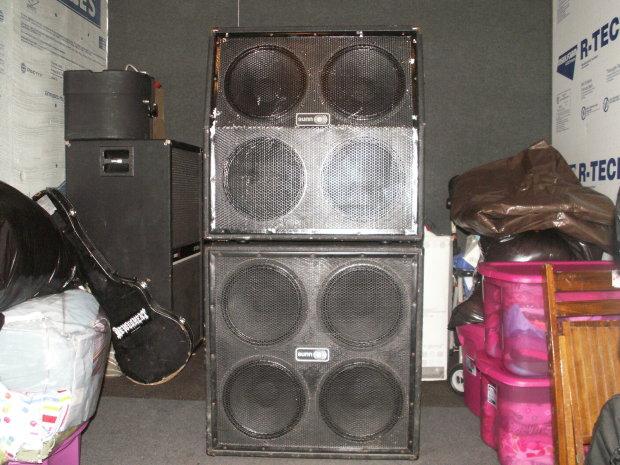 Sunn Fullstack 8x12 Or 4x12 Halfstack Cabinets Reverb