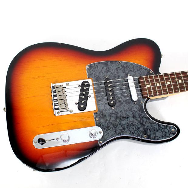 2002 Fender Deluxe Nashville Power Telecaster In Sunburst