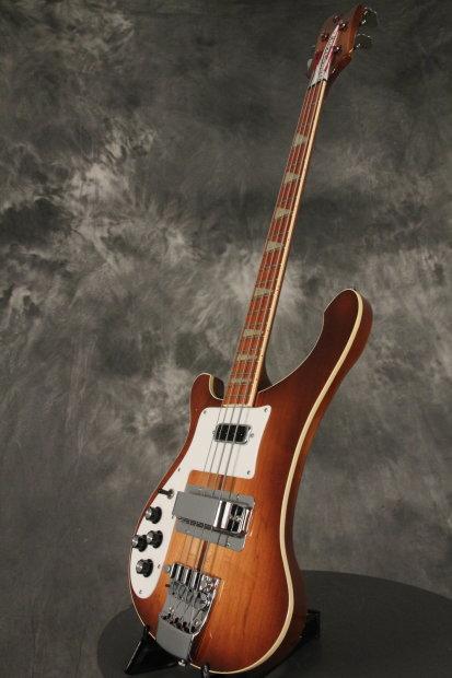 rickenbacker 4001 left handed bass autumnglo all original 1979 reverb. Black Bedroom Furniture Sets. Home Design Ideas