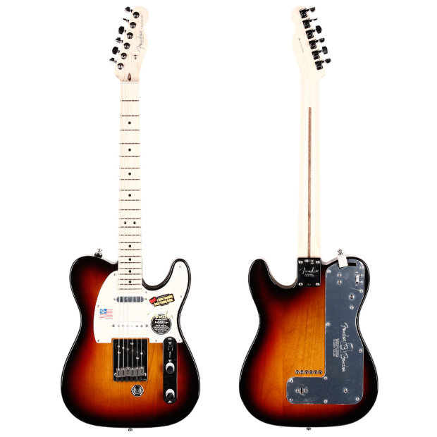fender american nashville b bender telecaster maple fingerboard 3 tone sunburst reverb. Black Bedroom Furniture Sets. Home Design Ideas