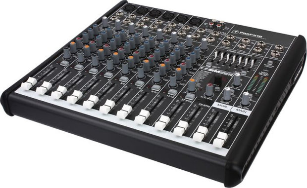 Mackie Profx12 12 Channel Compact Effects Usb Mixer W 2