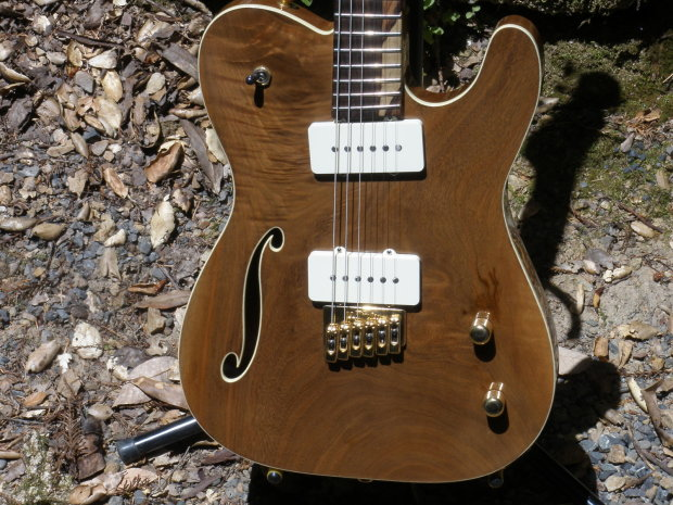 cerletti hand made custom telecaster style nos natural finish reverb. Black Bedroom Furniture Sets. Home Design Ideas