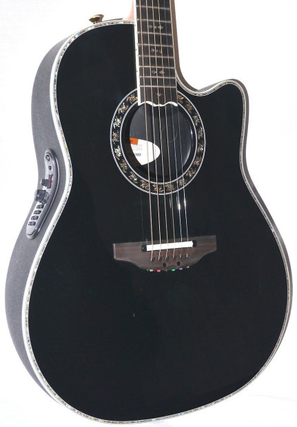ovation c2079ax 5 custom legend acoustic electric guitar black w case built in tuner and. Black Bedroom Furniture Sets. Home Design Ideas