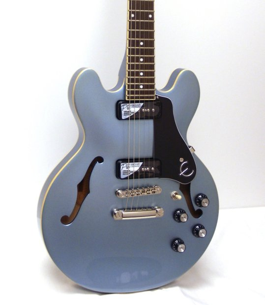 Es 339 P90 : epiphone es 339 p90 pro ltd ed semi hollowbody electric guitar pelham blue reverb ~ Russianpoet.info Haus und Dekorationen
