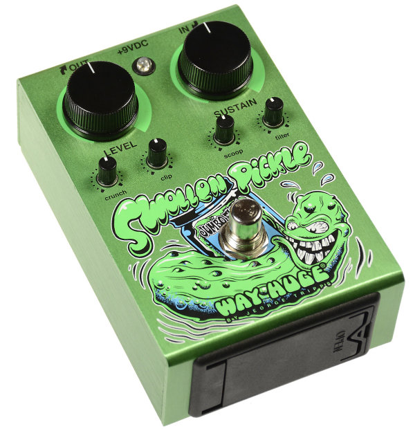 way huge swollen pickle dirty donny edition jumbo fuzz guitar effect pedal reverb