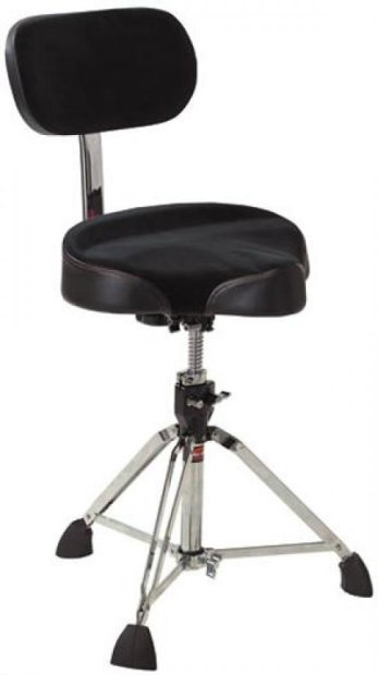 Gibraltar 9608 Mb Motorcycle Drum Throne With Backrest