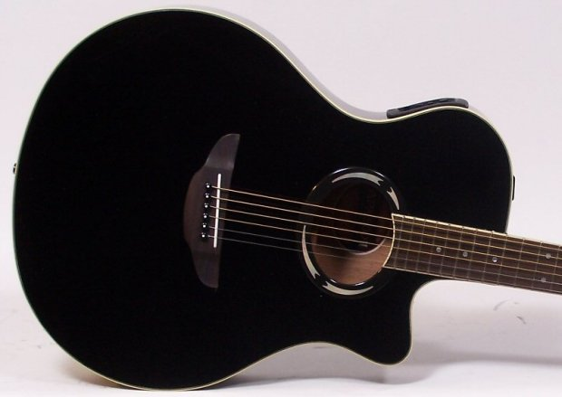 yamaha apx500ii thinline cutaway acoustic electric guitar black reverb. Black Bedroom Furniture Sets. Home Design Ideas
