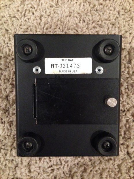 proco rat serial number dating The pro co the rat is a guitar effects pedal produced by pro co sound the original rat was developed in the basement of pro co's kalamazoo, michigan.