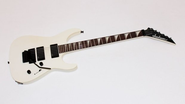 jackson slsxmg soloist x series white electric guitar w emg 81 85 reverb. Black Bedroom Furniture Sets. Home Design Ideas