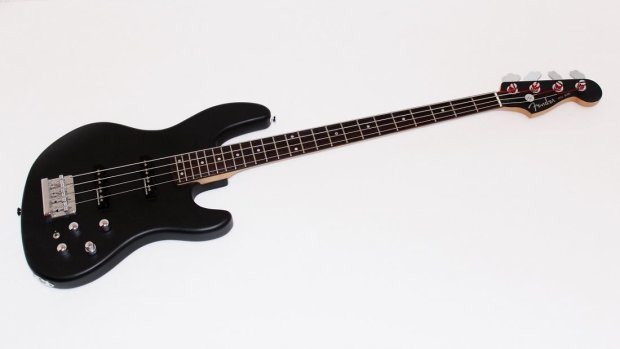 fender jazz bass 24 electric bass guitar flat black reverb. Black Bedroom Furniture Sets. Home Design Ideas
