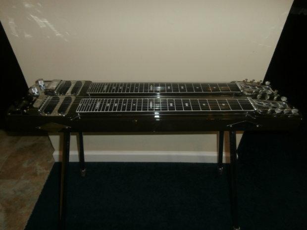 vintage 1960 39 s fender stringmaster double neck non pedal steel guitar w case reverb. Black Bedroom Furniture Sets. Home Design Ideas
