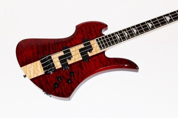 bc rich hcmbtr mockingbird heritage electric bass guitar reverb. Black Bedroom Furniture Sets. Home Design Ideas