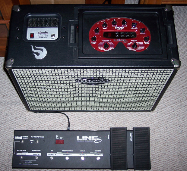 Atomic Reactor 112 Tube Combo W Pod 2 0 And Floorboard