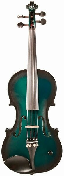barcus berry vibrato ae acoustic electric violin outfit w case green reverb. Black Bedroom Furniture Sets. Home Design Ideas
