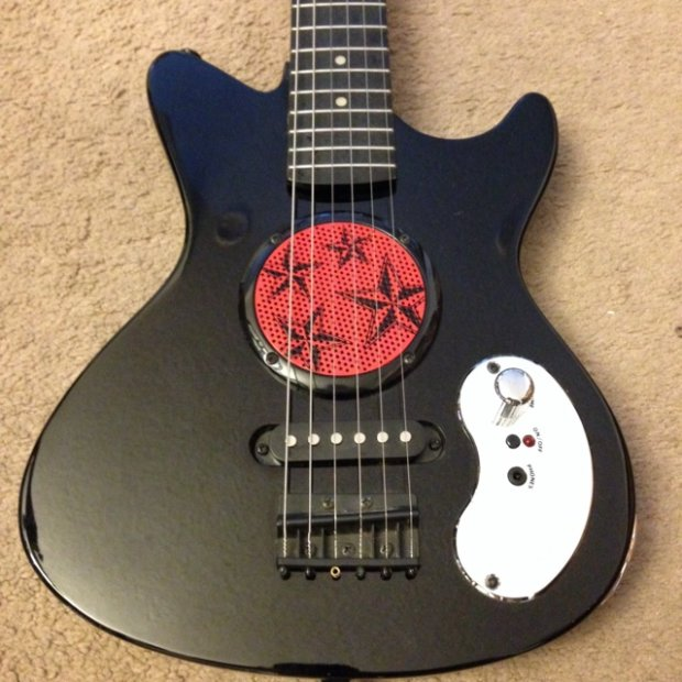 first act discovery electric guitar child travel built in speaker and amp reverb. Black Bedroom Furniture Sets. Home Design Ideas