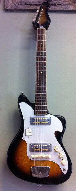 vintage audition electric guitar