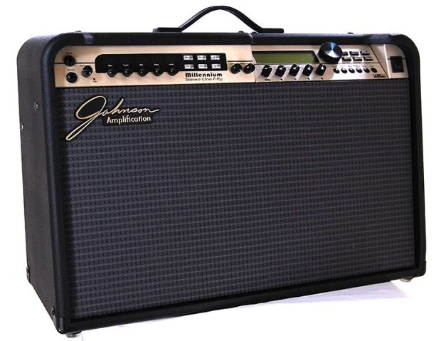 johnson millenium jm 150 2x12 stereo combo guitar amplifier with amp modelers and effects reverb. Black Bedroom Furniture Sets. Home Design Ideas
