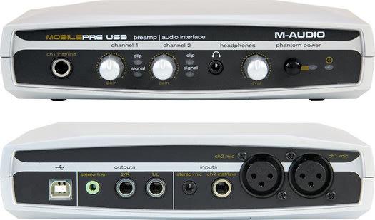 m audio mobile pre usb preamp audio recording interface silver mobilepre mac pc reverb. Black Bedroom Furniture Sets. Home Design Ideas