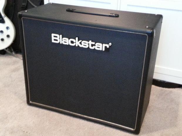 blackstar blackstar htv 112 1x12 extension cab black with celestion speaker reverb. Black Bedroom Furniture Sets. Home Design Ideas